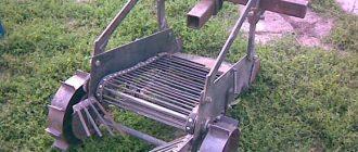 Самодельный транспортер для картофелекопалки своими руками на нижней челюсти элеватором под углом удаляют