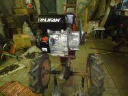 Как установить двигатель Лифан на мотоблок Каскад