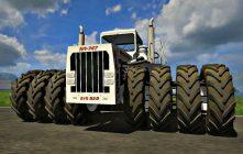 Самый большой трактор в России