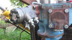 Как установить насос дозатор на МТЗ 80