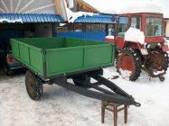 Самодельная телега для трактора